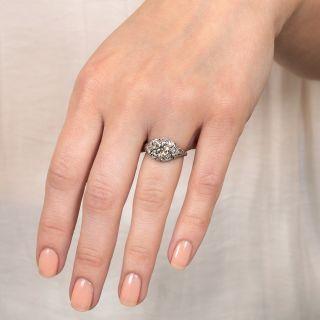 Late Edwardian 1.07 Carat Diamond Engagement Ring  - GIA J VVS2