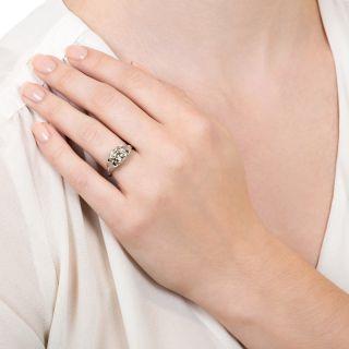 Late Edwardian 1.41 Carat Diamond Engagement Ring - GIA M VS2