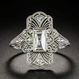 Late Edwardian .45 Carat Diamond Dinner Ring by F & F Felger - 2