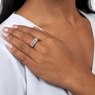 Late Edwardian/Early Art Deco Three-Stone Diamond Ring