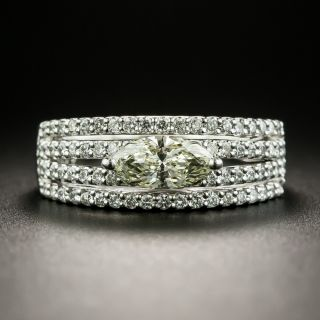 Marquise Diamond Ring - 1