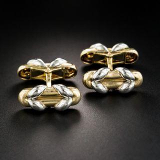 Mauboussin Platinum & 18K Cufflinks - 2