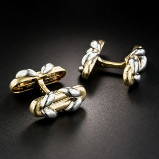 Mauboussin Platinum & 18K Cufflinks