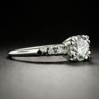 Mid-Century 1.14 Carat Diamond Engagement Ring - GIA J SI2