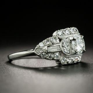 Mid-Century .38 Carat Diamond Engagement Ring
