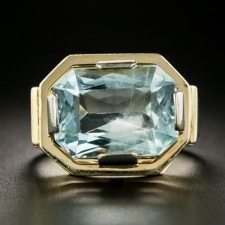 Retro 8.00 Carat Aquamarine Ring - 2