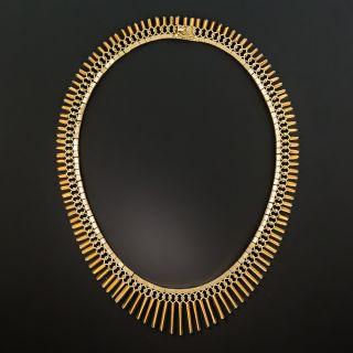 "Mid-Century ""Cleopatra"" Necklace"