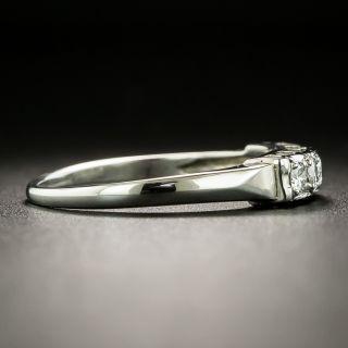 Mid-Century Diamond Five-Stone Band Ring