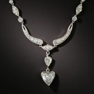 Mid-Century Diamond Necklace by Edward Petri - 1