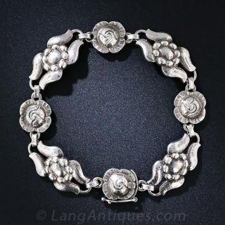 Mid-Century Georg Jensen Sterling Silver Jewelry Suite