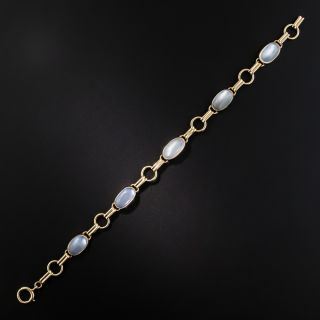 Mid-Century Moonstone Bracelet by Binder Brothers