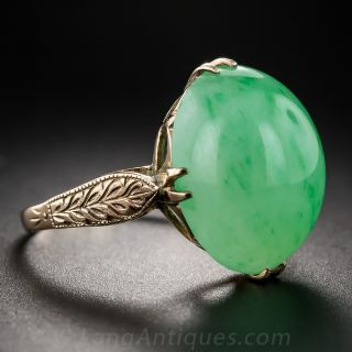 Natural Burma Jade Ring