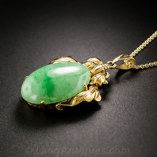 Natural Jadeite Jade Pendant