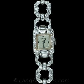 Omega Art Deco Ladies Bracelet Watch - 1