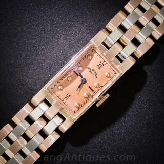 Paul Ditisheim Retro Two-Tone Bracelet Watch