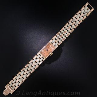 Paul Ditisheim Retro Two-Tone Bracelet Watch - 3