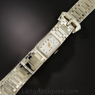 Paul Ditisheim Solvil Diamond Bracelet Watch