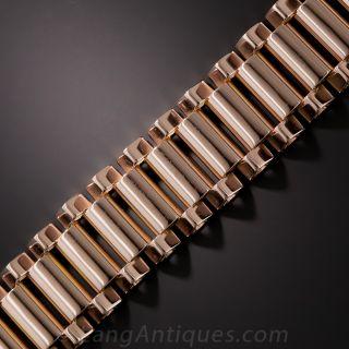 Retro 18K Rose Gold Bracelet