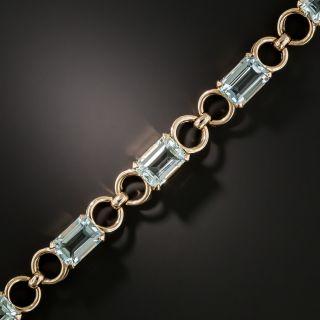 Retro Aquamarine Bracelet  - 3