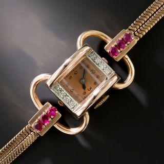 Retro Bracelet Watch - 1