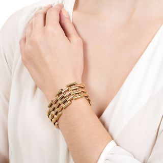 Retro Two-Tone Bracelet by Garrigus