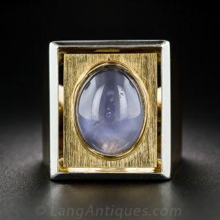 Star Sapphire Ring by Tony Cavelti