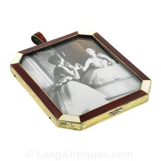 Sterling Guilloche Picture Frame