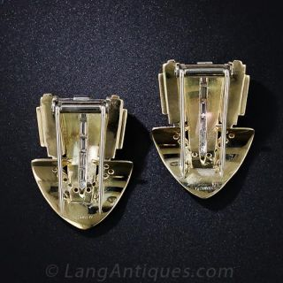 Tiffany & Co. Double Diamond Clips