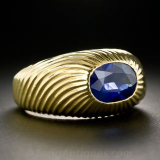 Tiffany & Co. - Schlumberger Sapphire Ring