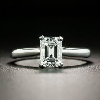 1.16 Carat Emerald-Cut Diamond Solitaire, GIA E VS1 - 2