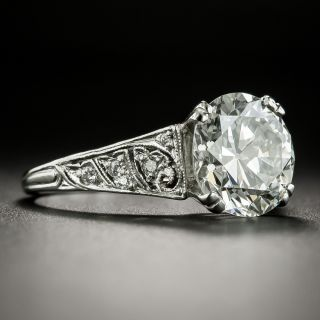 Tiffany & Co. Art Deco 3.27 Carat Diamond Engagement  Ring - GIA  I VS1