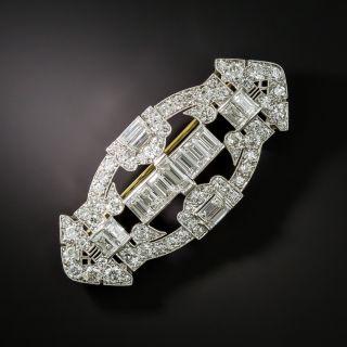 Tiffany & Co. Art Deco Diamond Brooch - 2