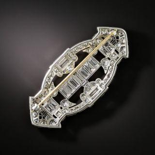 Tiffany & Co. Art Deco Diamond Brooch