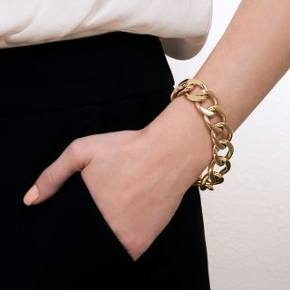 Tiffany & Co. Curb Link Bracelet