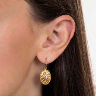 Tiffany & Co. Diamond Earrings - Circa 1900