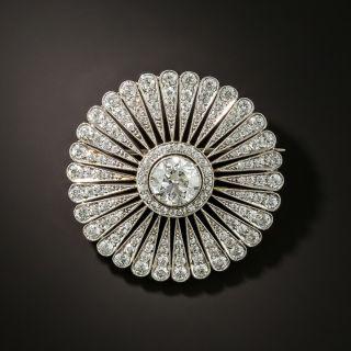 Tiffany & Co. Edwardian Diamond Platinum Brooch/Pendant