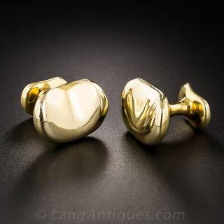 Tiffany & Co. Elsa Peretti Bean Cufflinks - 1