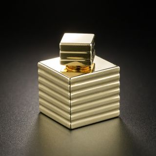 Tiffany & Co. Miniature Gold Perfume Bottle - 2