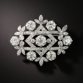 Antique Tiffany & Co. Diamond Brooch
