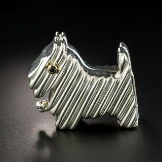 Tiffany & Co. Scottie Dog Pillbox