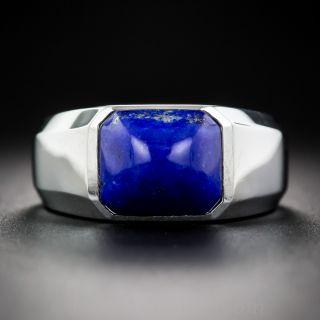 Unisex Lapis Ring - 1
