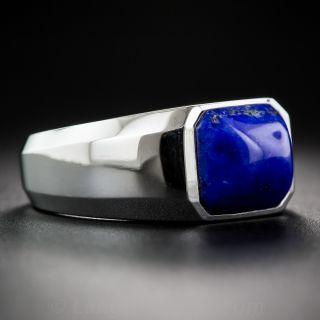 Unisex Lapis Ring