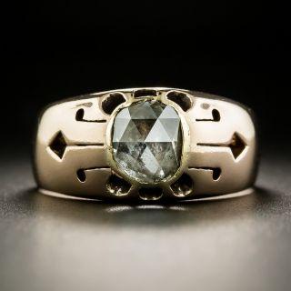 Victorian 1.00 Carat Rose-Cut Diamond Ring - 2