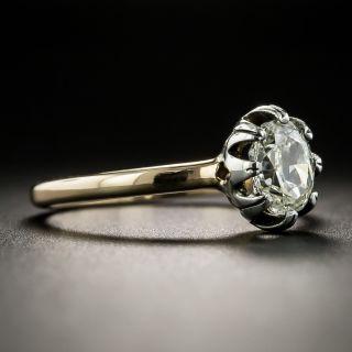 Victorian .70 Carat Diamond Solitaire Engagement Ring