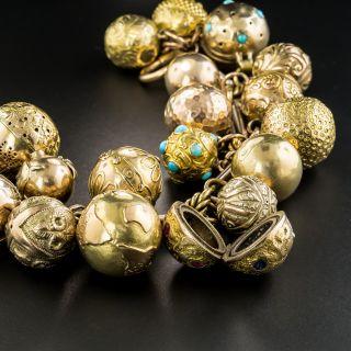 Victorian Ball Charm Bracelet
