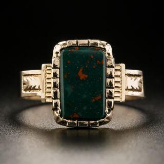 Victorian Bloodstone Ring - 2