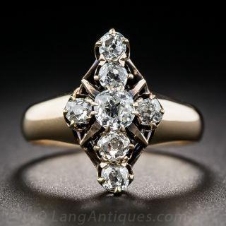 Victorian Diamond Dinner Ring - 1