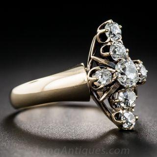 Victorian Diamond Dinner Ring