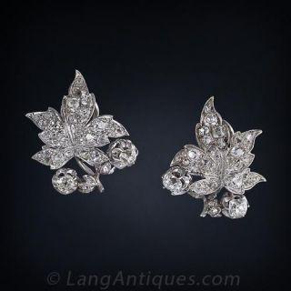 Victorian Diamond Earrings - 1