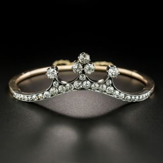 Victorian Diamond Tiara Bracelet - 2